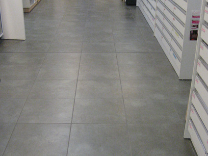 Carrelage maill garage for Carrelage pour garage castorama